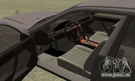 Mercedes-Benz W124 E200 für GTA San Andreas rechten Ansicht