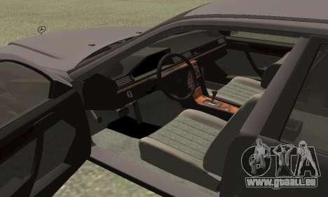 Mercedes-Benz W124 E200 pour GTA San Andreas vue de droite