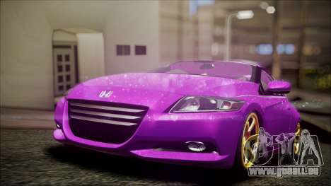 Honda CRZ Hybird Pink Cute pour GTA San Andreas