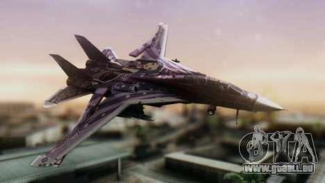 F-14D Azusa Miura The Idolmaster pour GTA San Andreas