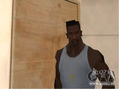Цепь Monster Energy für GTA San Andreas zweiten Screenshot