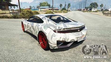 Dinka Jester (Racecar) Dollars für GTA 5