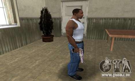 Good Look Like Deagle pour GTA San Andreas troisième écran