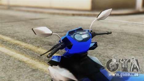 Yamaha MX KING 150 für GTA San Andreas rechten Ansicht