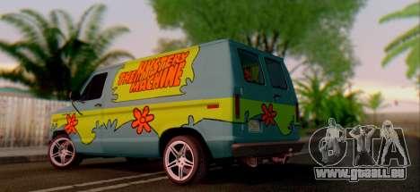 Ford E-150 Scooby Doo für GTA San Andreas rechten Ansicht