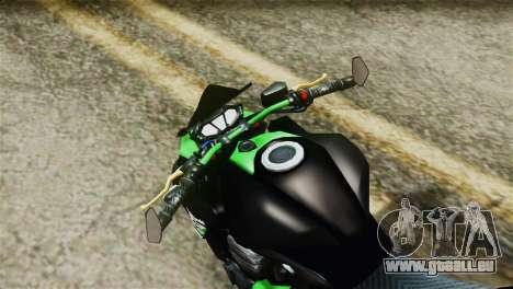 Kawasaki Z800 Modified für GTA San Andreas rechten Ansicht