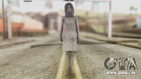 Kayako Skin pour GTA San Andreas deuxième écran