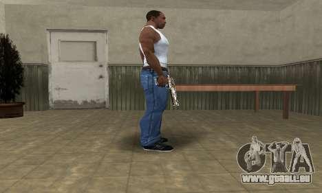 Old Forest Deagle pour GTA San Andreas deuxième écran