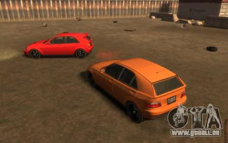 Karin Sultan Hatchback v2 pour GTA 4 Vue arrière