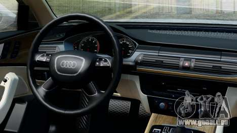 Audi A6 Stanced für GTA San Andreas rechten Ansicht