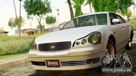 GTA 4 Intruder für GTA San Andreas rechten Ansicht