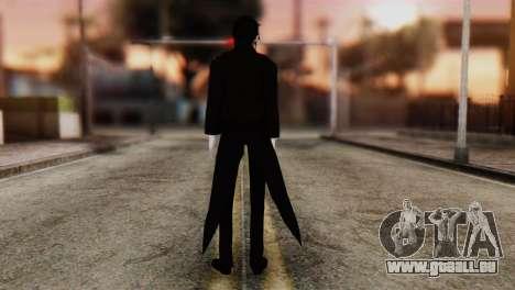 Sebastian Michaelis Kuroshitsuji für GTA San Andreas zweiten Screenshot