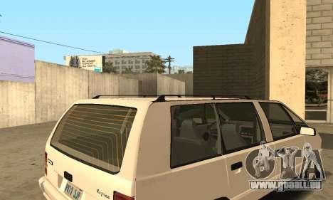 Renault Espace 2000 GTS pour GTA San Andreas