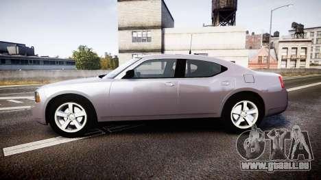 Dodge Charger Police Unmarked [ELS] pour GTA 4 est une gauche