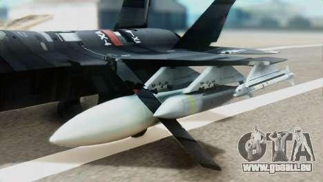 F-35B Polish Air Force 1. ELT für GTA San Andreas rechten Ansicht