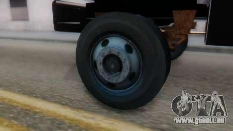 GMC Top Kick 88-95 pour GTA San Andreas sur la vue arrière gauche