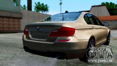 BMW M550d für GTA San Andreas linke Ansicht