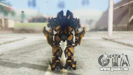 Bumblebee Skin from Transformers v2 pour GTA San Andreas troisième écran