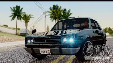 GTA 5 Vulcar Warrener IVF für GTA San Andreas