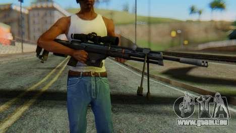 DSR50 Sniper Rifle pour GTA San Andreas troisième écran