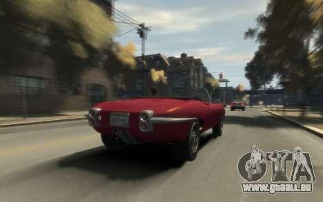 Enus Windsor Classic pour GTA 4 vue de dessus