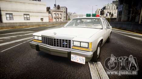 Ford LTD Crown Victoria 1987 Detective [ELS] pour GTA 4
