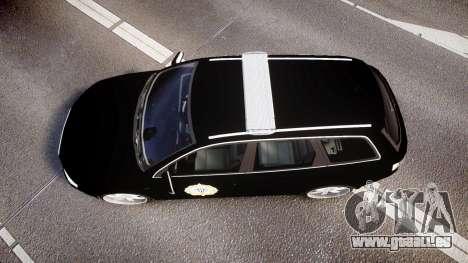 Audi S4 Avant Serbian Police [ELS] für GTA 4 rechte Ansicht