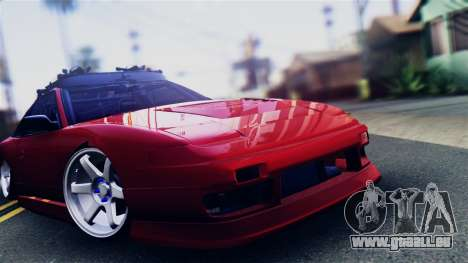 Nissan 180SX pour GTA San Andreas sur la vue arrière gauche