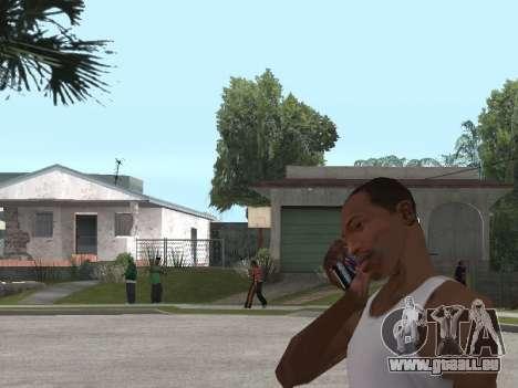 Sony Xperia Z Ultra pour GTA San Andreas deuxième écran