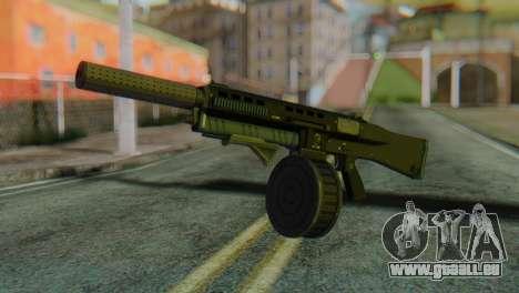 Assault Shotgun GTA 5 v2 für GTA San Andreas