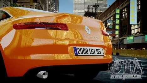 Renault Laguna Coupe für GTA 4 rechte Ansicht