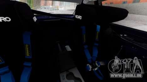 Nissan Silvia S15 für GTA San Andreas Rückansicht