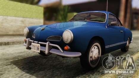 Volkswagen Karmann-Ghia Coupe (Typ 14) 1955 HQLM pour GTA San Andreas