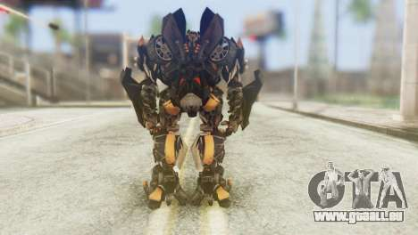 Bumblebee Skin from Transformers v1 pour GTA San Andreas troisième écran