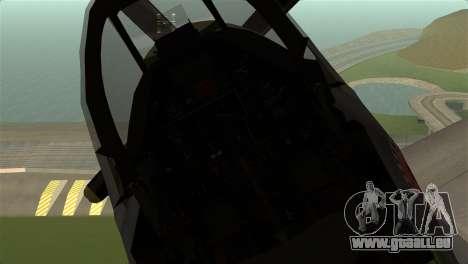P-51D Mustang pour GTA San Andreas vue de droite