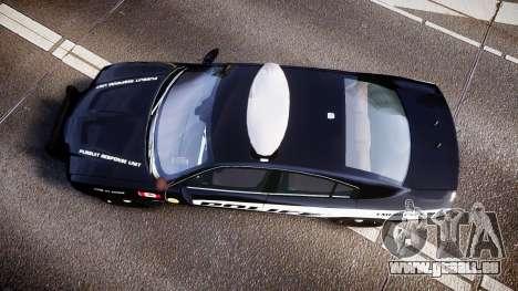 Dodge Charger Alderney Police für GTA 4 rechte Ansicht