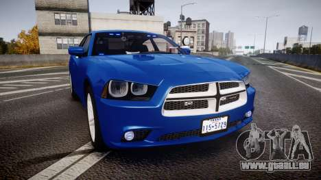 Dodge Charger SWAT Tactical Unit [ELS] bl für GTA 4