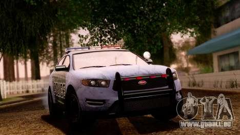 GTA 5 Vapid Police Interceptor v2 SA Style pour GTA San Andreas