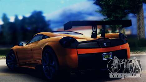 Pegassi Osiris from GTA 5 pour GTA San Andreas laissé vue