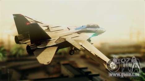F-14D VF-213 Black Lions für GTA San Andreas linke Ansicht
