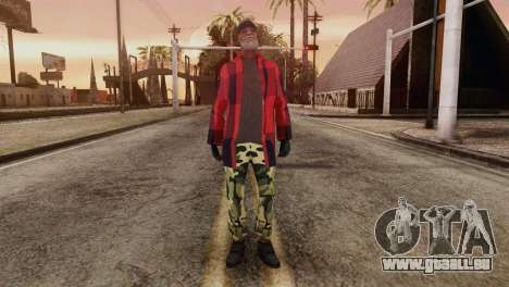 New Homeless Skin pour GTA San Andreas