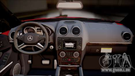 Mercedes-Benz ML 63 AMG 2014 für GTA San Andreas Rückansicht