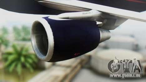 Airbus A320-200 British Airways für GTA San Andreas rechten Ansicht