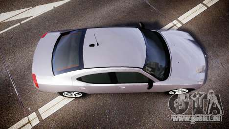 Dodge Charger Police Unmarked [ELS] für GTA 4 rechte Ansicht