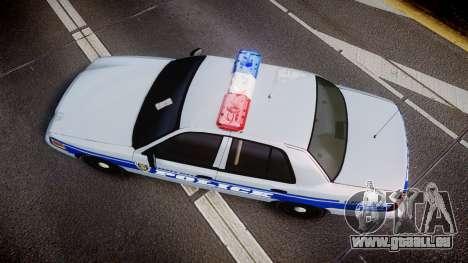 Ford Crown Victoria Liberty Police [ELS] pour GTA 4 est un droit