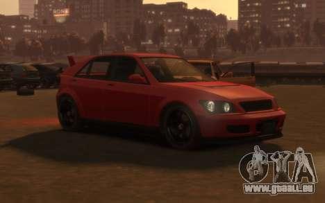 Karin Sultan Hatchback v2 für GTA 4 linke Ansicht