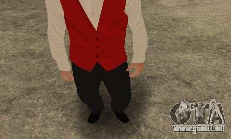 Casino Skin pour GTA San Andreas deuxième écran