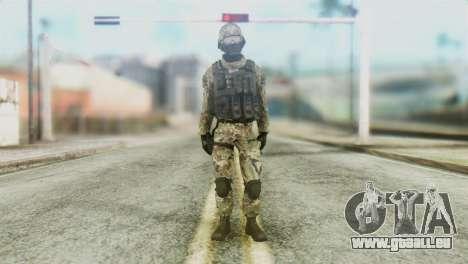 BSD Operator pour GTA San Andreas deuxième écran