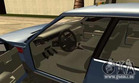 Renault 11 TXE Taxi pour GTA San Andreas vue de côté