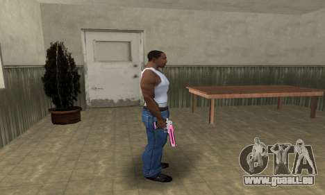 Pink Deagle pour GTA San Andreas troisième écran